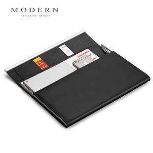 德国Modern文件包手提包男事务包文件夹A4资料包经理包签约夹定制
