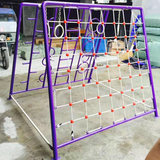 Kindergarten children's swivel boat swing indoor and outside the bridge area rocking seesaw climbing multi-functional combination