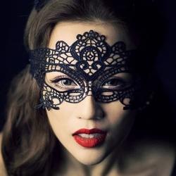 夜店女王!性感情趣内衣套装诱惑蕾丝镂空眼罩面具真人制服猫女