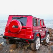 儿童电动车奔驰G65越野车宝宝四轮遥控摇摆汽车双人玩具车可坐人