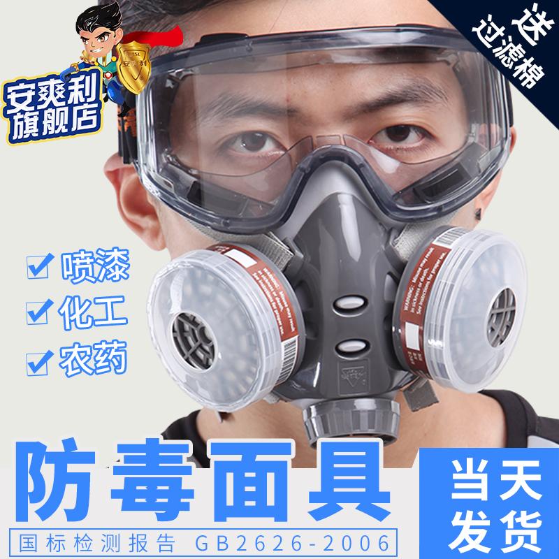 防毒面具全面