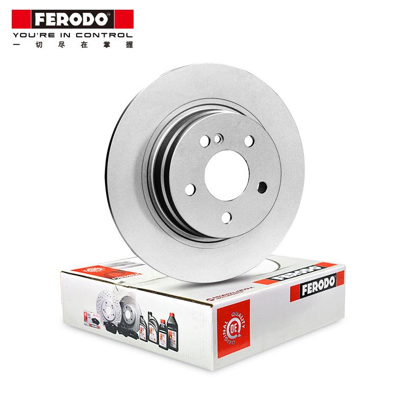 菲罗多前刹车盘DDF1572C-1-D适用奥迪A8大众辉腾3.0 3.2 3.6 4.2