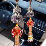 Heping gourd car pendant hanging perfume pendant key chain diamond car car car hanging