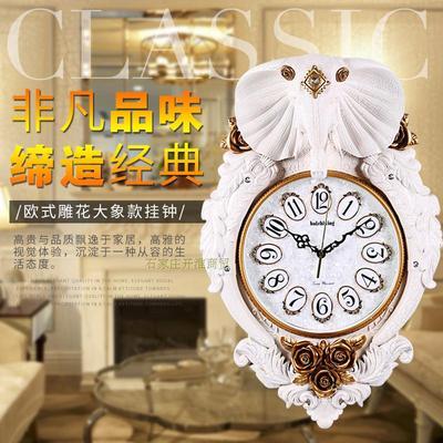 大象钟表挂钟客厅专卖店
