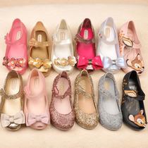 梅丽莎童鞋女童凉鞋Mini Melissa迷你蝴蝶结米奇小鹿水钻鸟巢洞洞