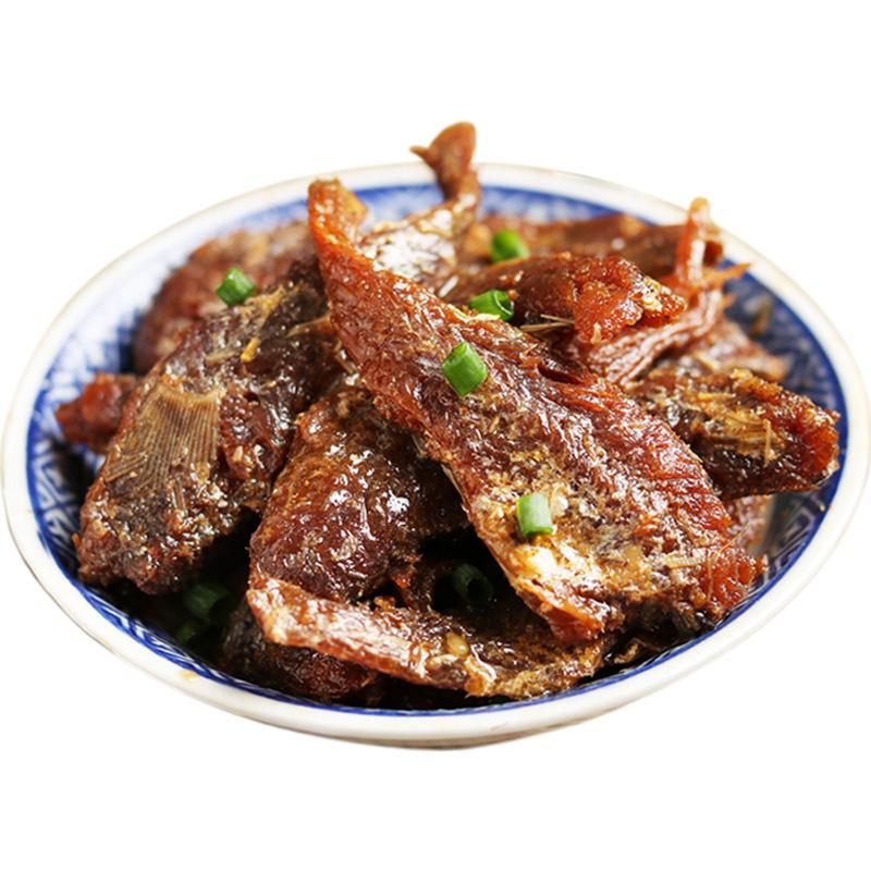 香酥小黄鱼干零食即食干货黄花鱼海鲜特产鱼片鱼干小鱼仔250g包邮