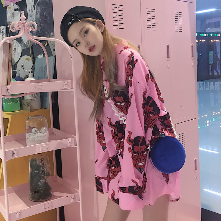 韩国ulzzang衬衫