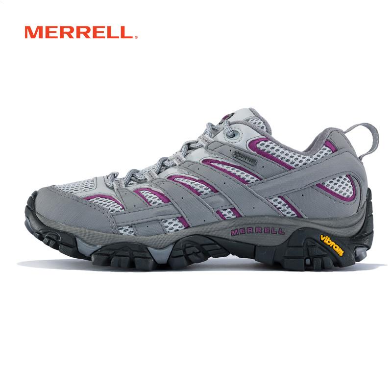 MERRELL迈乐女士户外运动登山鞋女夏季防水防滑徒步女鞋 J06082