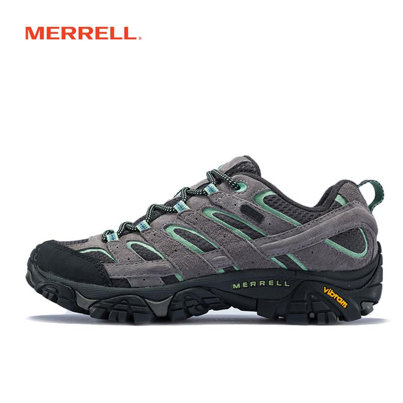 MERRELL迈乐 户外轻装徒步女鞋透气耐磨防水缓震登山鞋 J06028