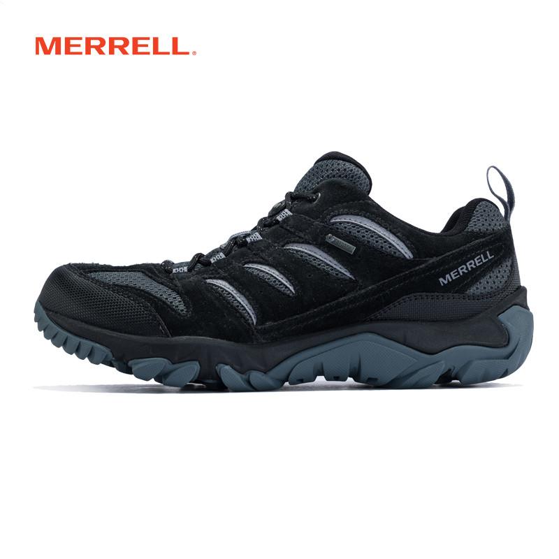 MERRELL迈乐 男鞋 GORE-TEX轻装徒步鞋 夏季户外透气登山鞋J09571