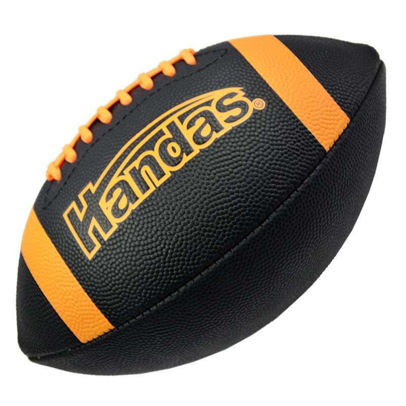 正品哈恩达斯美式PU材质3号儿童橄榄球 学生练习防滑小橄榄球5色