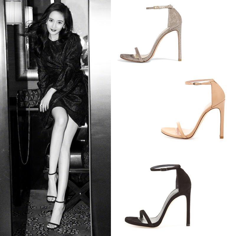 女式超高凉鞋