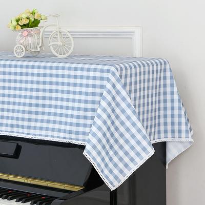 欧式通用钢琴巾盖布丝绒印花电钢琴罩88键半罩防尘套简约田园布艺新款推荐