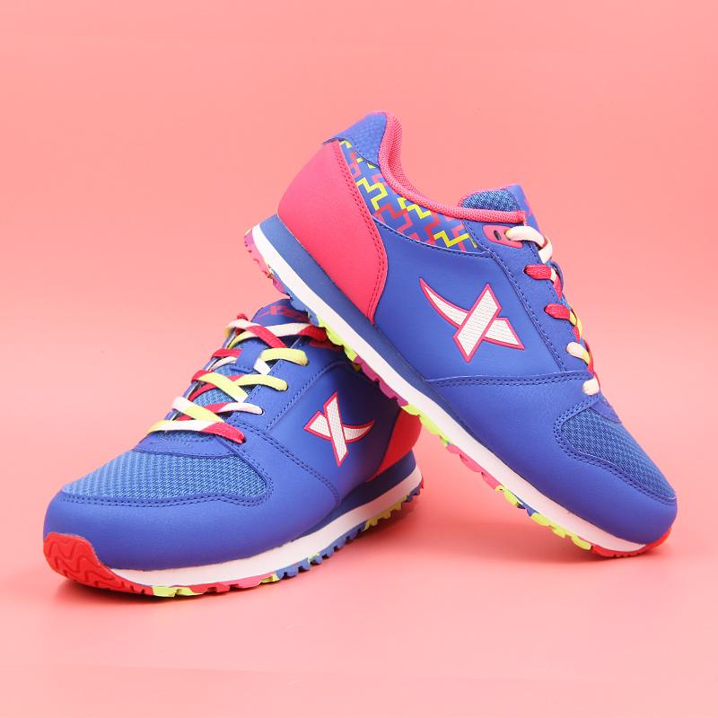 特步女鞋跑步鞋2019夏季女士运动鞋慢跑鞋特价清仓处理舒适休闲鞋