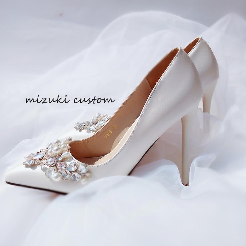 婚纱配婚鞋