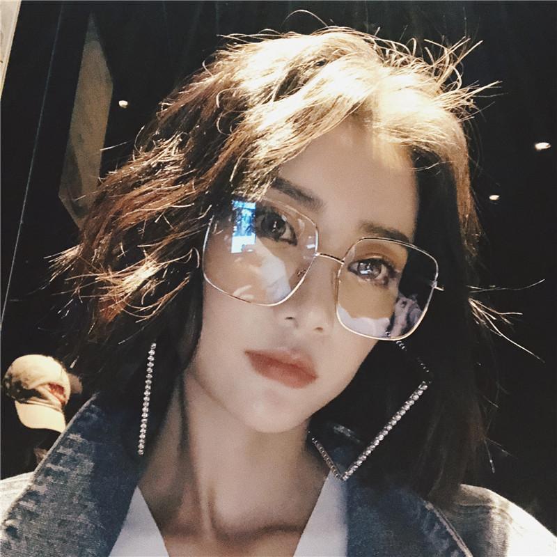 金边眼镜框