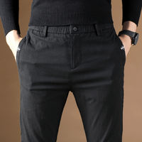 Men's plus velvet pants winter cotton casual pants men plus cotton autumn and winter plus velvet thick winter men's pants winter pants wear thick