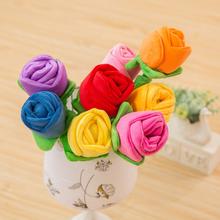 卡通玫瑰花按摩棒敲背棒花捶毛绒玩具结婚庆妇女节女人节礼品礼物