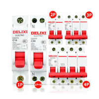 Delixi circuit breaker household DZ47S air switch 1P 2P 3P open 63A32A16A25A total gate C45