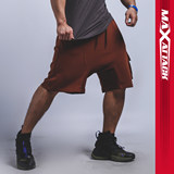 MAXATTACK Loose Training Shorts Men's Bagging Tool Large Size Five-minute Pants Air-permeable Running Sports Pants