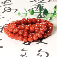 Dialect and Tian Yunan red agate necklace brand promotion only 300 yuan boutique 108 luxury DIY men and women models h