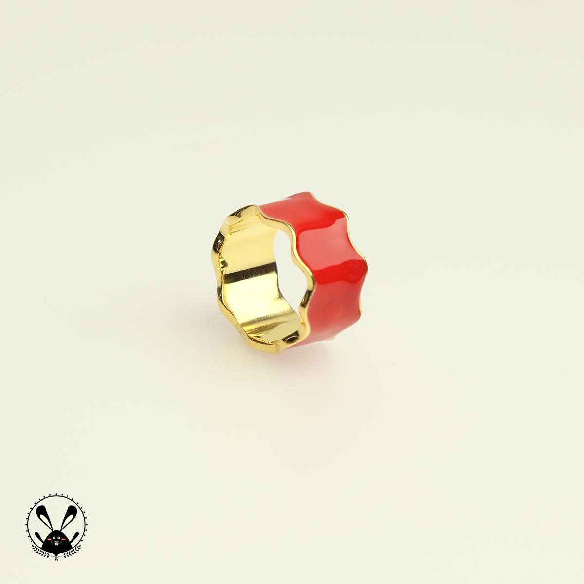 原创珠宝设计设计师杨sir五福星925纯银戒指女耳钉送礼跨境专用
