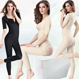 Beauty ya body strengthening after the de-body jumpsuit female post-partum repair belly lift hip beauty body tights