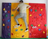 Kindergarten outdoor development training climbing wall playground large climbing wall children indoor and outdoor plastic climbing rock