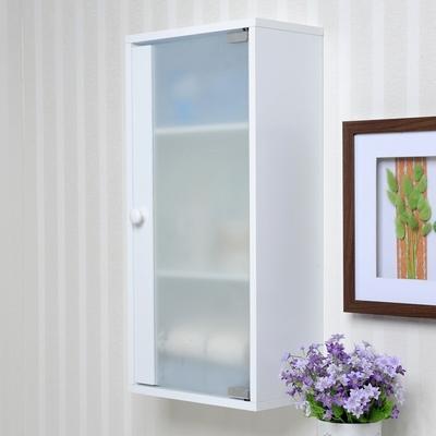 约浴室柜洗手间挂墙式实木挂柜卫生间小户型壁柜厨房吊柜防潮