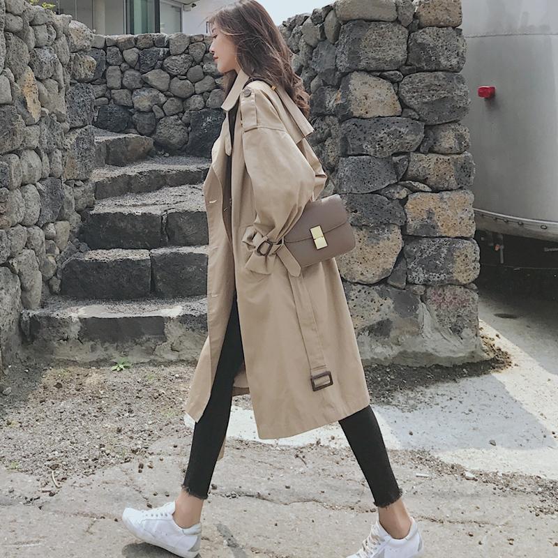 休闲女长款外套