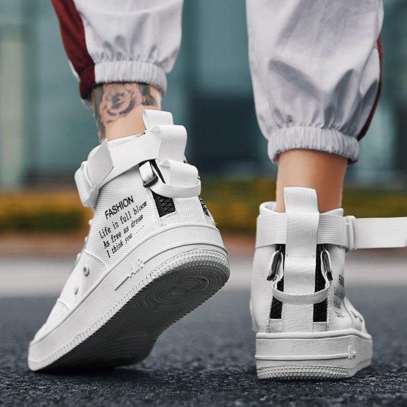 潮韩版高帮鞋