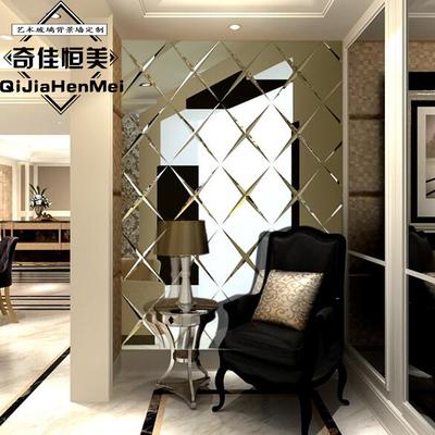 欧式玻璃背景墙品牌旗舰店