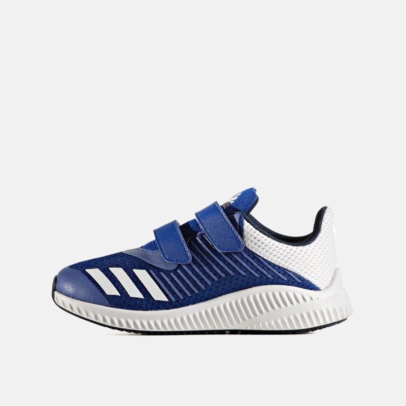 阿迪达斯男女童鞋跑步运动鞋小大童魔术贴秋CQ0004 CP9606 BY3446