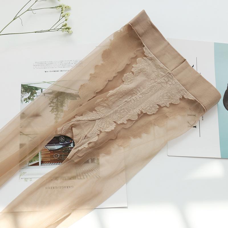 加长丝袜高个子 超长透明隐形 夏天连体大长腿丝袜女薄款防勾丝
