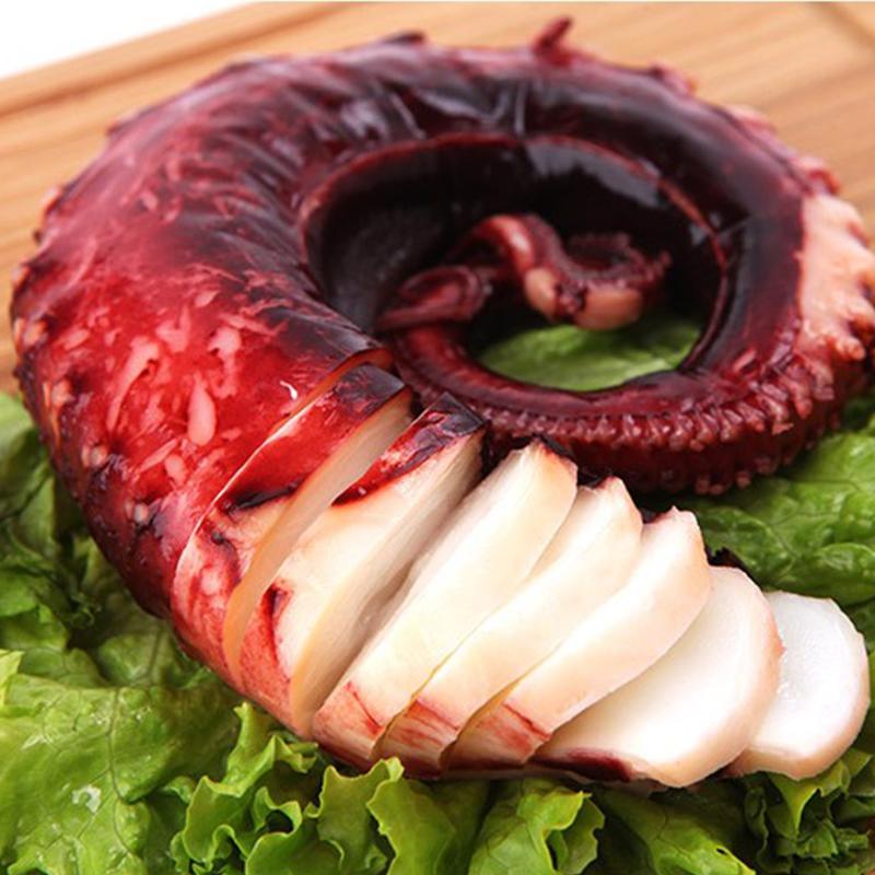 百鲜荟大章鱼足海鲜即食鱿鱼腿八爪鱼3斤装包邮