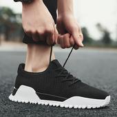 夏季韩版潮流男鞋子百搭英伦运动休闲男士帆布鞋板鞋潮鞋透气布鞋