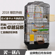 Xuanfeng peony parrot cage large metal stainless steel bird cage bird cage