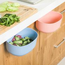 廚房小號垃圾桶可愛家用客廳無蓋大號塑料壓圈臥室紙簍衛生間