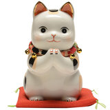 Japanese pharmacist kiln lucky cat decoration large shop opening birthday wedding gift Japanese-style cashier home