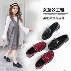 女童英伦鞋