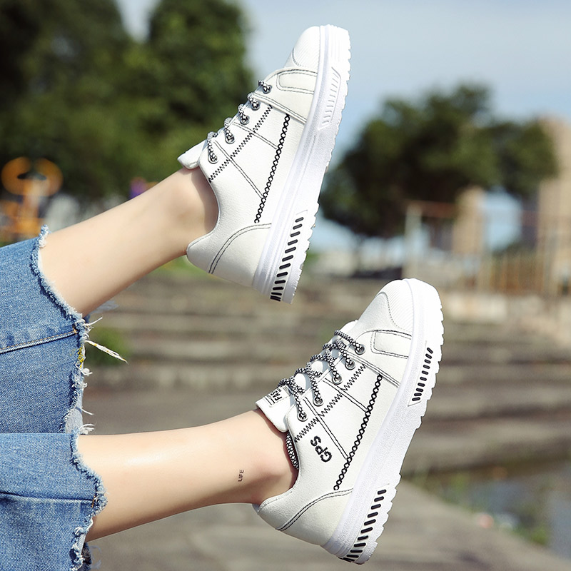 小白鞋系带