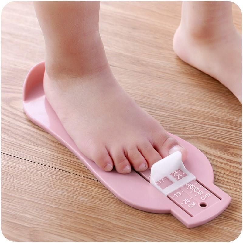 家用儿童量脚器脚长测量尺宝宝买鞋量脚器婴儿童宝宝脚长测量器