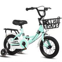 小孩自行车1-2-3-8岁婴幼儿童女孩男孩款女宝宝女童婴儿公主小童6