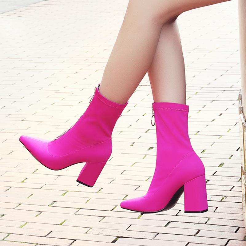 大筒围女靴欧美