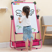 Drawing board blackboard wall baby young children pupils home learning writing magnetic pen erasable whiteboard bracket type
