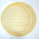 Double-layer bamboo cover curtain dumplings tray household pasta curtain bamboo dumplings curtain refrigerator tray green bamboo dumplings