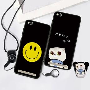 红米5a手机壳软小米MCE3B硅胶保护套带指环支架Redmi5A卡通软壳女