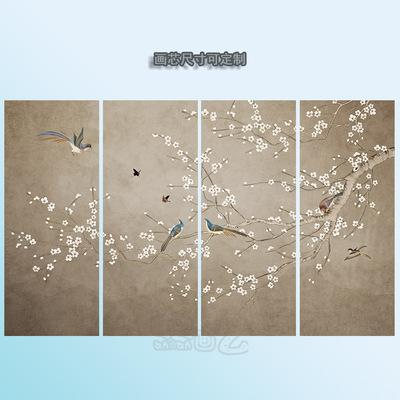 中式花鸟装饰画无框是什么牌子