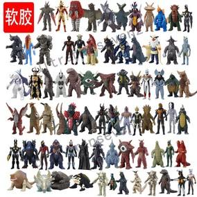 银河奥特曼怪兽玩具500软胶芝顿死镰古维拉贝利亚超人男孩玩具模