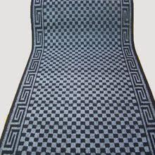 黑灰格子地毯PVC地毯灰色条纹1.2米地毯包边地毯红色地毯防滑